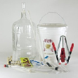 K8 Fine Wine Equipment Kit with 6-Gallon Glass Carboy